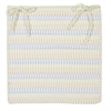 Ticking Stripe- Starlight Chair Pad (single)