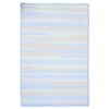 Ticking Stripe- Starlight 7'x9'