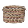 "Colonial Mills Twilight- Oatmeal 14""x10"" Utility Basket"