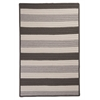 Stripe It- Silver 4'x6'