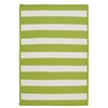 Colonial Mills Stripe It- Bright Lime 6' square
