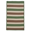 Colonial Mills Stripe It- Moss-stone 6' square