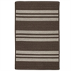 Sunbrella Southport Stripe- Mink 5'x7'