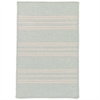 Sunbrella Southport Stripe- Sea 5'x7'