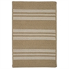Colonial Mills Sunbrella  Southport Stripe- Wheat 5'x7'