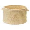 "Colonial Mills West Bay- Banana Tweed 18""x12"" Utility Basket"