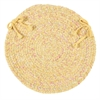 Colonial Mills West Bay- Banana Tweed Chair Pad (single)
