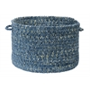 "West Bay- Blue Tweed 18""x12"" Utility Basket"