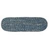 West Bay- Blue Tweed Stair Tread (single)