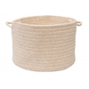 "Colonial Mills Bristol - Natural 18""x12"" Utility Basket"