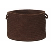 "Colonial Mills Bristol - Dark Brown 18""x12"" Utility Basket"