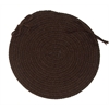 Colonial Mills Bristol - Dark Brown Chair Pad (single)