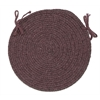 Bristol - Dark Plum Chair Pad (single)