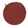Colonial Mills Bristol - Rosewood Chair Pad (set 4)