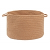 "Colonial Mills Bristol - Evergold 18""x12"" Utility Basket"