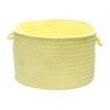 "Colonial Mills Bristol - Yellow 18""x12"" Utility Basket"