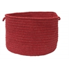 "Colonial Mills Bristol - Red 14""x10"" Utility Basket"