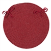 Colonial Mills Bristol - Red Chair Pad (set 4)