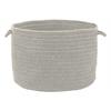 "Colonial Mills Bristol - Gray 14""x10"" Utility Basket"