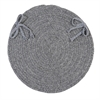 Bristol - Gray Chair Pad (single)