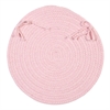 Bristol - Blush Pink Chair Pad (single)