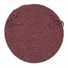 Bristol - Mauve Chair Pad (set 4)