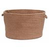 "Colonial Mills Bristol - Mocha 14""x10"" Utility Basket"