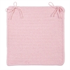 Westminster- Blush Pink Chair Pad (set 4)