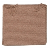 Westminster- Taupe Chair Pad (set 4)