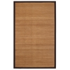 Anji Mountain 4' x 6' Villager Natural Bamboo Rug