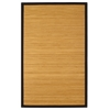 2' x 3' Contemporary Natural Bamboo Rug
