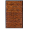 Anji Mountain 4' x 6' Cobblestone Mahogany Bamboo Rug