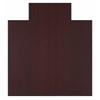 "Anji Mountain Bamboo Tri-Fold Plush Chairmat, 47"" x 51"", with lip"