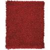 Anji Mountain 5' x 8' Crimson Silky Shag Rug