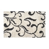 Anji Mountain 5' x 7' Kensington Shag Ivory & Gray Rug