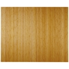 "Bamboo Deluxe Roll-Up Chairmat, 60"" x 48"", no lip"