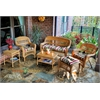 Tortuga Outdoor Portside 6Pc Seating - Amber - Eastbay Pompeii