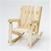 Rustic Cedar Rocker, JR. Log