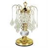 "15""H Ceramic Touch-On Accent Table Lamp - Gold"
