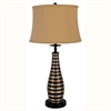 "Ore International 29.5"" Curved Vase Table Lamp"