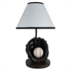 "Ore International 15""H Baseball Accent Table Lamp"