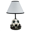 "Ore International 15"" H Soccer Accent Table Lamp"