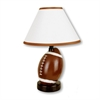 "13.5""H Ceramic Football Table Lamp"