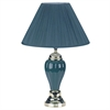 "27"" Ceramic Table Lamp - Green"