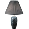 "Ore International 26"" Ceramic Table Lamp - Green"