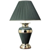 "32"" Metal Table Lamp - Hunter Green"