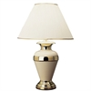 "32"" Metal Table Lamp - Ivory"