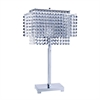 "Ore International 28""H Crystal Strings Table Lamp"