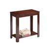"Ore International 24"" Traditional Dark Cherry Side/End Table"