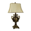 "Ore International 30"" Urn-Shape Table Lamp - Antique Gold"